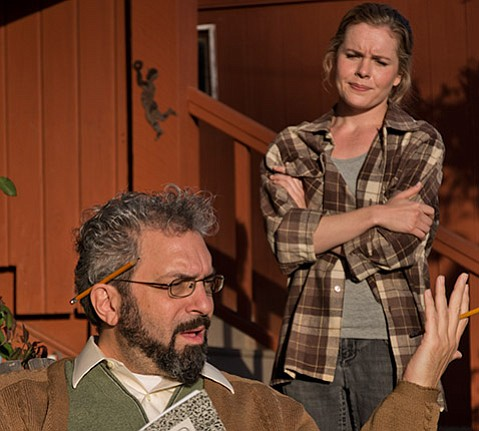 <b>COUNTING BACKWARD:</b>  Paul Canter stars as mathematician Robert in this Tony Award–winning play about math and mental illness.