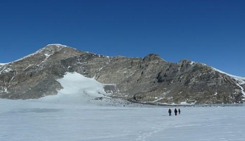 Mt. Luyendyk in Antarctica's Fosdick Range has been named for UCSB professor emeritus Bruce Luyendyk.