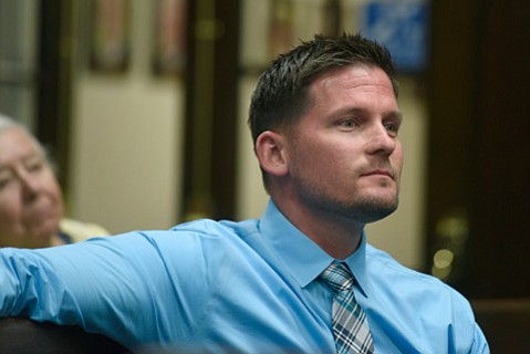 <strong>QUIET MAN:</strong>  Nicholas Turner, new manager of the Montecito Water District, showed up at the City Council meeting but said nothing.