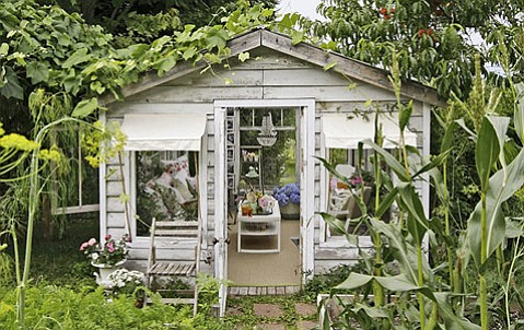 Man Cave Woman Shed : Faith salie a shed of one s own cbs news