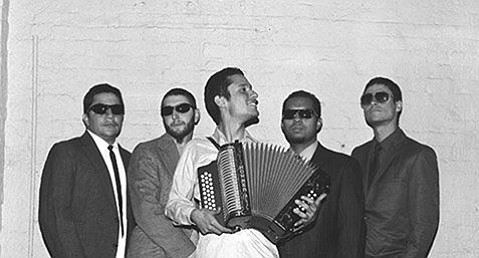 <strong>VERY BE COOL:</strong>  Very Be Careful is back in S.B. with a show at Del Pueblo Café, where the veteran vallenato group will bid farewell to staff member Huicho Mata, who is heading to New York City. His artwork on display will be for sale.