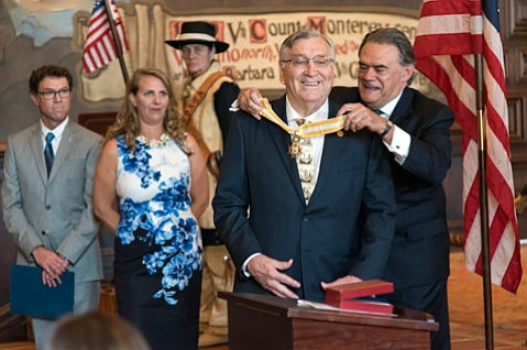 Dr. Jarrell Jackman awarded the Decoration of Commander of the Royal Order of Queen Isabella the Catholic
