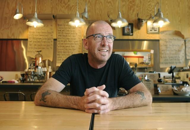 Jeff Olsson at Industrial Eats