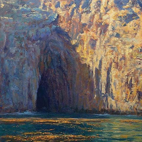 """The Watery Cave"" by Rich Brimer"