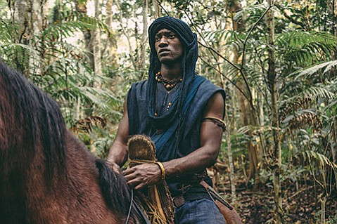 <strong>RE-ROOT:</strong>  Malachi Kirby plays Kunta Kinte in this reboot of the 1977 TV miniseries.