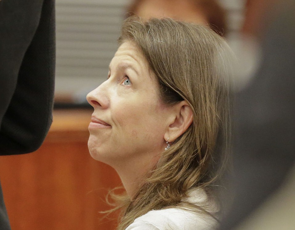 Michelle Gibbs at her sentencing hearing on Wednesday, June 1