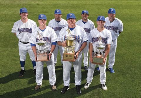 FORESTERS AIMING FOR WICHITA:  Santa Barbara's summer champions have won five National Baseball Congress World Series.