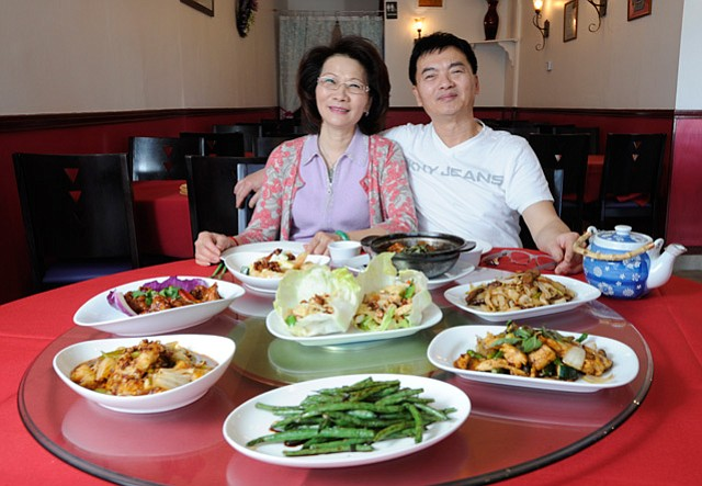 China King's Jerry and Jennifer Hong.
