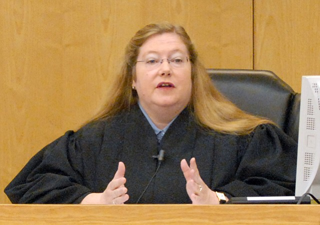 BANGING THE GAVEL:  Judge Colleen Sterne found attorney John LeBouef lacking in credibility.