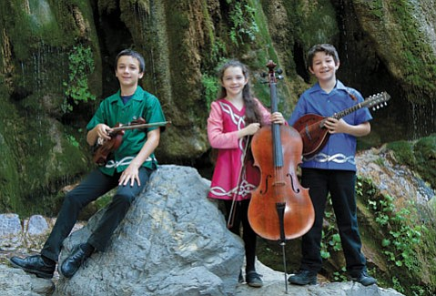 FULL OF JOY: Siblings (from left) Dominic, Angela Rose, and Joseph Padula hope to help others with their