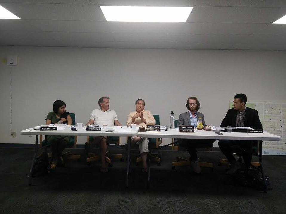 Expressing concern over jeopardizing a utility tax that would fund Isla Vista's community services district, I.V. Recreation and Park District boardmembers postponed a proposed bed tax.