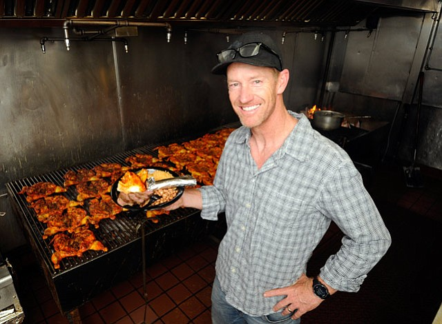 <b>GRILLER GUY:</b>  Matt Benko built Santa Barbara Chicken Ranch into a modest mini-empire of mesquite-grilled chicken and tri-tip restaurants.
