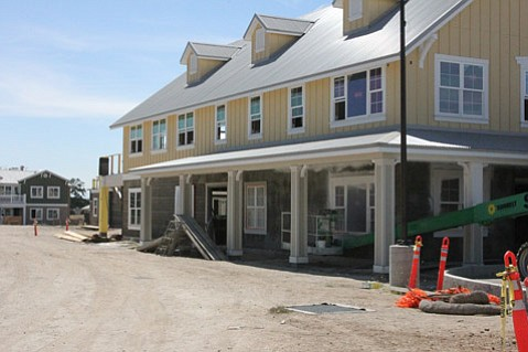 <b>AFFORDABLES: </b> Rona Barrett's Golden Inn & Village in Santa Ynez Valley nears completion.