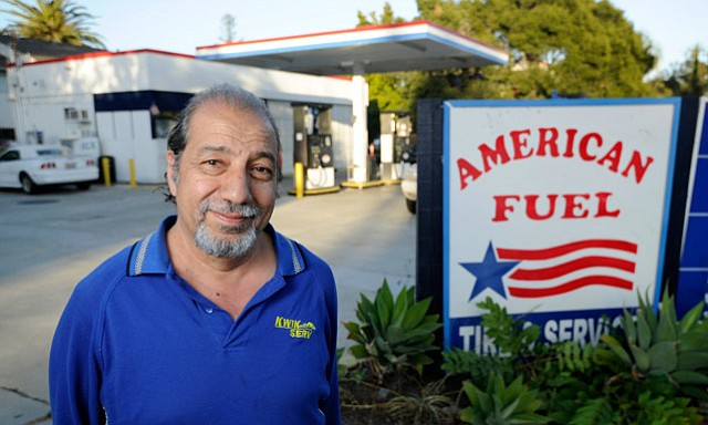 <b>BOWING OUT WITH A BASH:</b>  After 16 years, Omar Belazi is hanging up his gas pumps at American Fuel, holding a farewell party this Sunday afternoon.