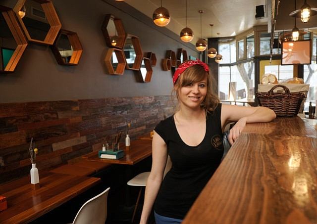 <b>KITTY'S LITTLE SIS: </b> Grace Austin (above) opened her West Ortega Street restaurant with Wildcat Lounge owner Bob Stout and Couch owner Michelle Prestage.
