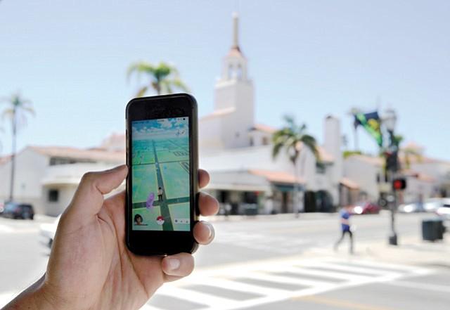 <em>Pokémon Go</em> is popular from downtown S.B. to I.V.
