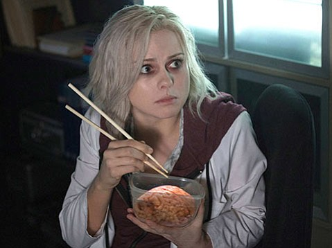 <strong>BRAINS:</strong> Rose McIver plays a med student turned zombie in the