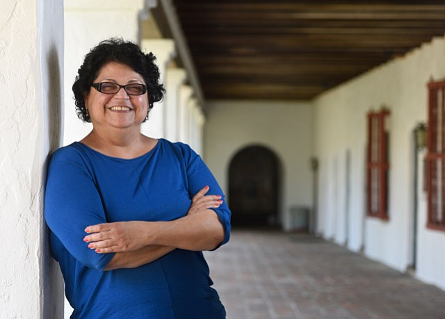 <b>REACHING FURTHER:</b> Monica Orozco said the Mission's greatest challenge is to better communicate what the storied institution is and does.