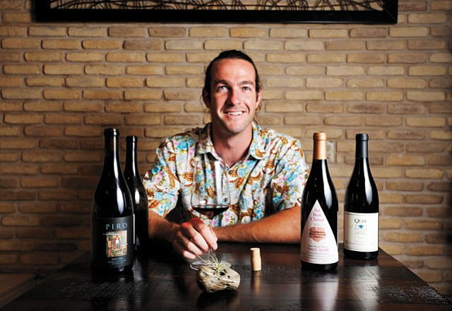 <b>PIRO'S PINOT: </b> Focused on lighter, energetic, Burgundian wines, vintner Marc Piro debuts his first self-made pinot noir this Sunday at Barbareño.