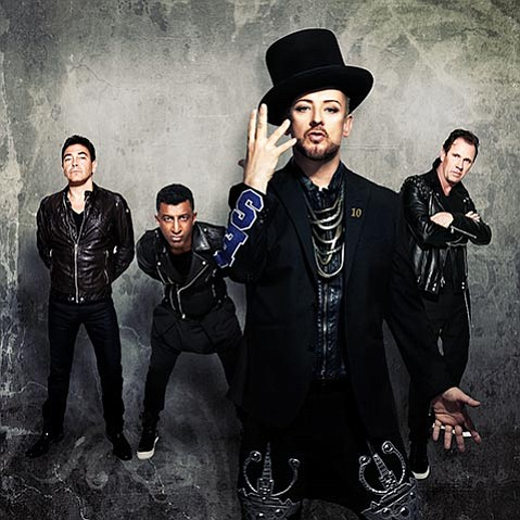 <strong>ROMANCE REVISITED:</strong> One of the biggest British chart-toppers of their day, Boy George and Culture Club revived their band two years ago, making new wave new all over again.