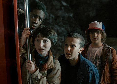 <strong>WHEN YOU'RE STRANGE:</strong>  Netflix's 1980s-set <em>Stranger Things</em> features an ace cast and a nail-biting sci-fi storyline that's all kinds of rad.