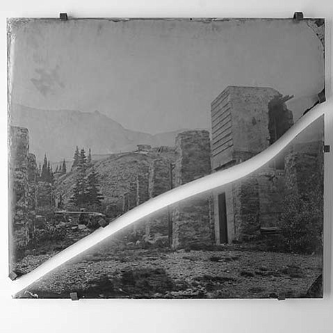 """Made at Tomboy 11,500, Broken in Cerro Gordo 7,500"" (2016) by Lindsay Ross"