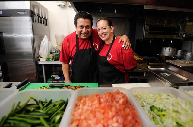 Jose and Mony Diaz