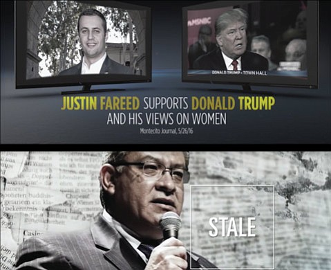 <b>HEARTS AND MINDS: </b> TV screens across the county will be carpet bombed with dueling campaign ads, such as the ones between congressional candidates Salud Carbajal and Justin Fareed.
