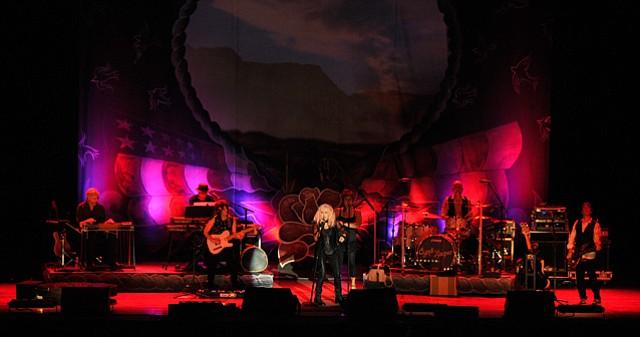 Cyndi Lauper Delights Fans at the Arlington.