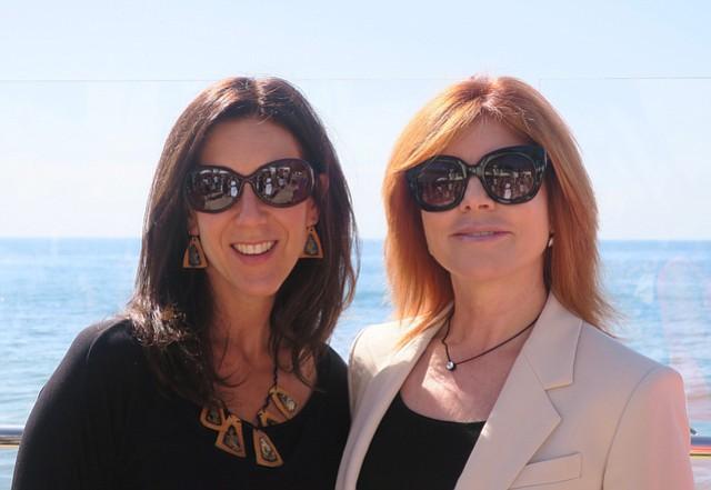Founder Nikki Katz and board chair Donna Barranco Fisher.