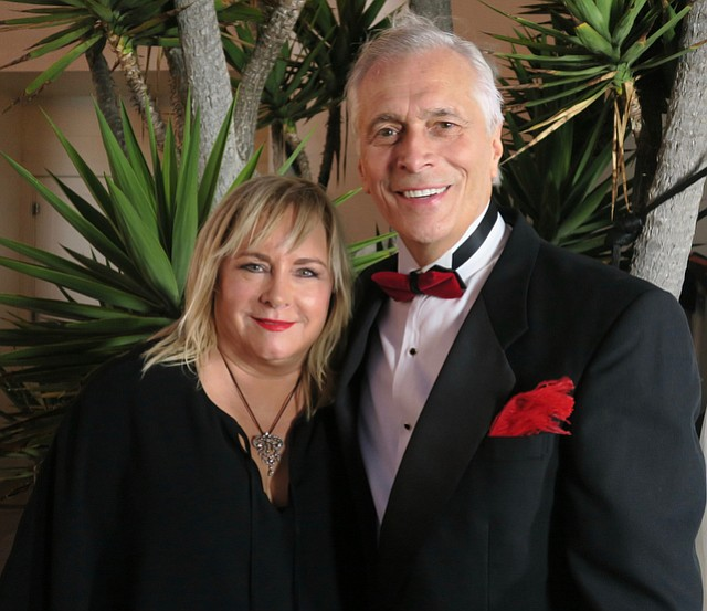 President, CEO and honoree Paul Didier and his wife, Bobbi Didier at the United Way's Red Feather Ball.