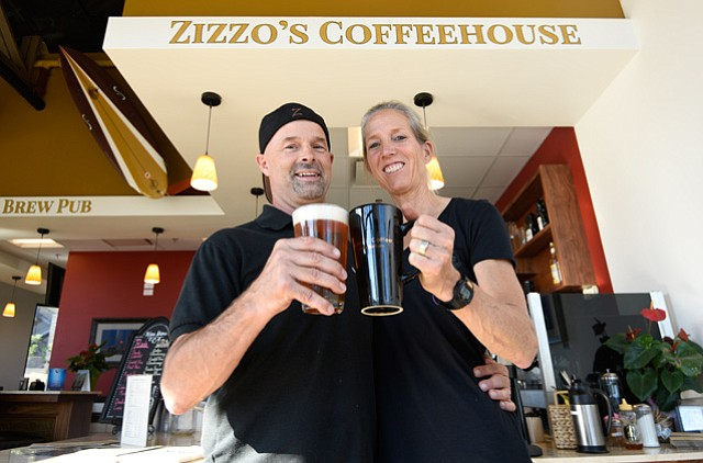 Zizzo's Coffeehouse & Brew Pub Owners Michael and Sue McDonald