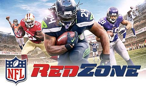 <strong>SEEING RED:</strong>  NFL RedZone supplies commercial-free, whip-around coverage of every Sunday-afternoon game.