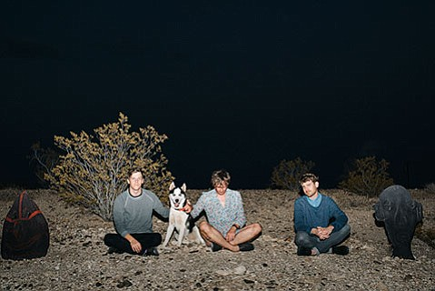 Strfkr members (from left) Shawn Glassford, Keil Corcoran, and Joshua Hodges