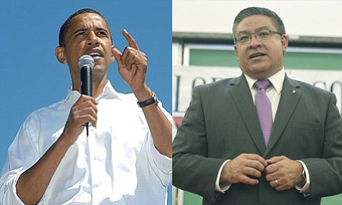 Salud Carbajal has snagged an endorsement from President Barack Obama in the race for the 24th Congressional District.