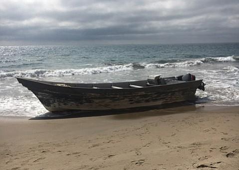 Panga Boat Found near Mariposa Reina