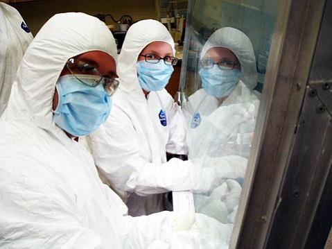 The DNA Memorial team.