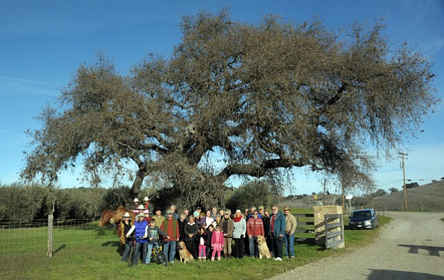 <b>MORE RULES, PLEASE: </b>Ballard Canyon residents (pictured here in 2013) fear what future wineries would mean for theirarea, so the county has proposed stricter development guidelines in wine country.