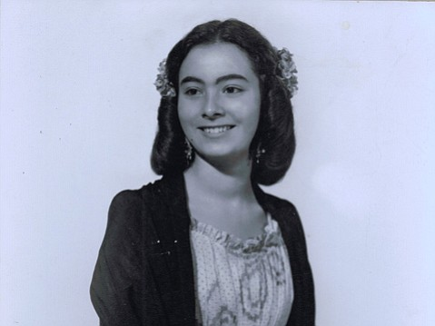 "Marcela  ""Mimi""  Pierpont, the author's grandmother."