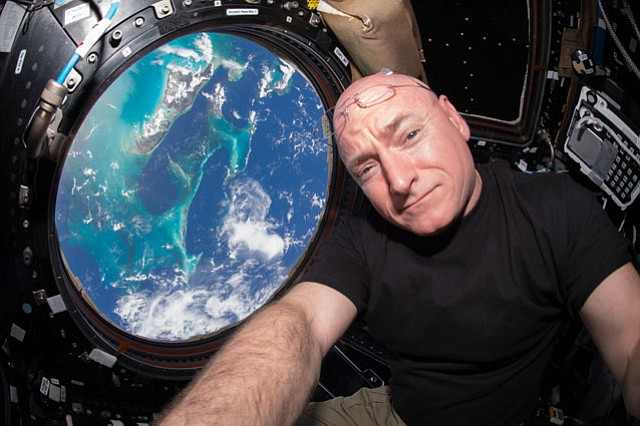 <b>INSTAGRAMMER IN SPACE: </b> Astronaut Scott Kelly documented his year on the International Space Station during his mission to find out what it might be like for the lucky few chosen to one day fly to Mars.