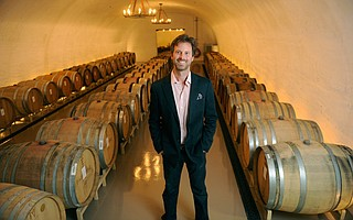 <b>MIDWEST DYNASTY MOVES TO LOMPOC:</b>  Pierre LaBarge IV is a St. Louis scion who is using his family wealth, education, and hard work to build an exciting winery on the western end of the Sta. Rita Hills.