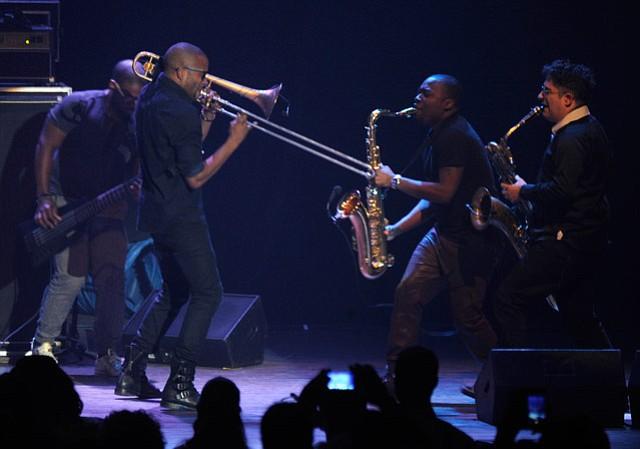 Trombone Shorty Lit Up the Arlington