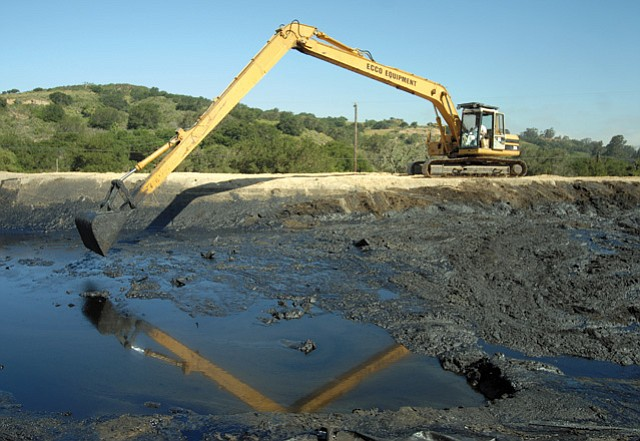 <b>WHEN BAD COMPANIES DO BAD THINGS:</b>  As the Trump administration sets out to deep-six environmental protections, it's worth reflecting on what those protections are designed to protect us from. Cleanup of a Greka oil spill is pictured.