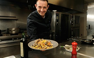 <b>SAY HI TO CHEF: </b>The Biltmore's new chef, Marco Fossati, is bringing new energy to shellfish and charcuterie.