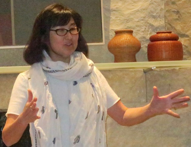 Maya Lin speaks passionately about climate change.