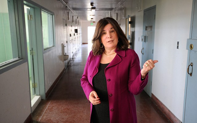 <b>MAKING SPACE: </b> Supervisor Janet Wolf hopes to convert empty space at the abandoned juvenile hall into a 15-bed mental health facility.