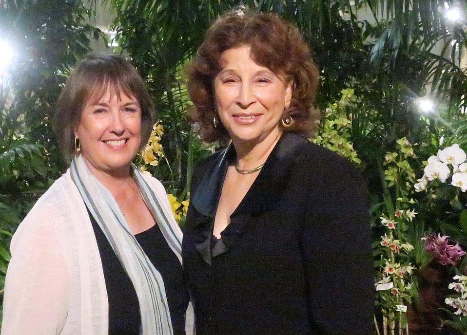 Board President Sandra Tillisch Svoboda and Executive Director Ellen Goodstein.