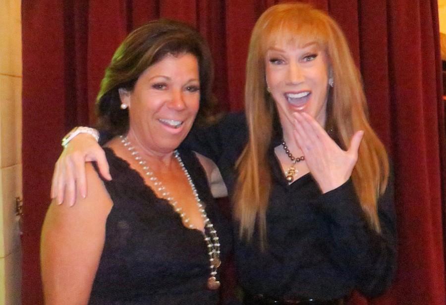 Gretchen Lieff and Kathy Griffin.