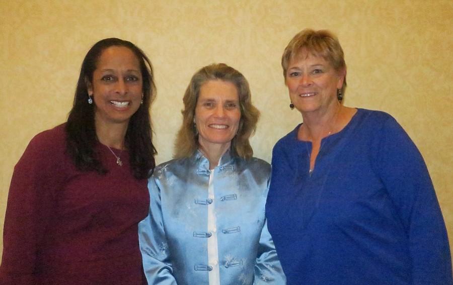 Board Co-President Katya Armistead, Executive Director Lisa Brabo, and Co-President Roberta Heter.