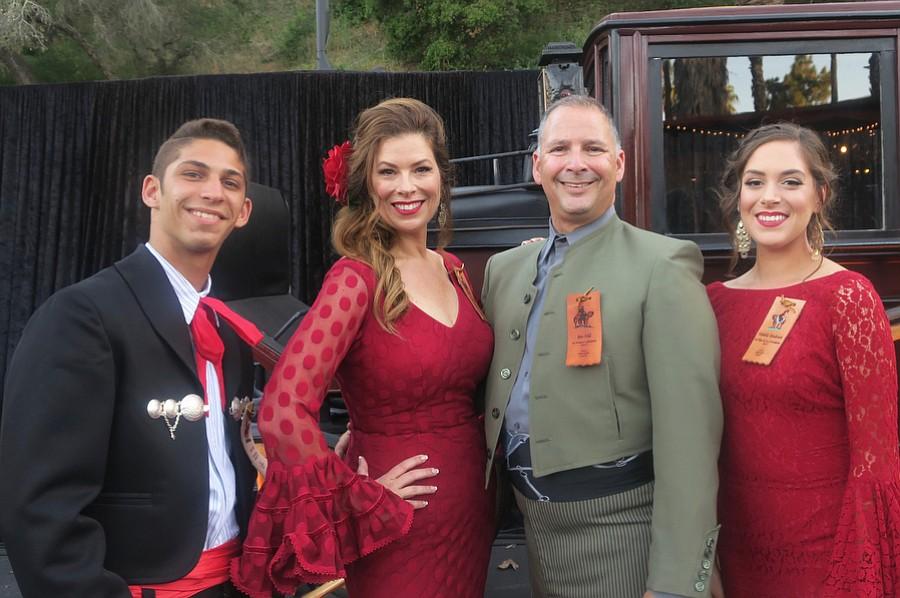 Carter Feld, La Presidente Rhonda Ledson Henderson, her husband Ben Feld, and Michelle Henderson.